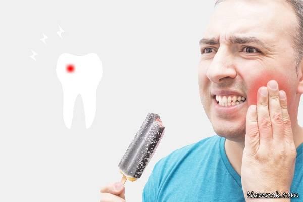حساس بودن دندان ها